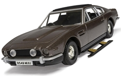 James Bond - Aston Martin Vantage - The Living Daylights 1987 1:36 by Corgi Entertainment Diecast Item Number CC04804