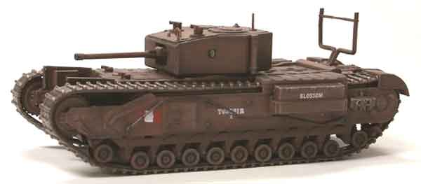 Churchill Mk.III, 1st Canadian Army Tank Brigade, Dieppe 1942 (1:72), Dragon Diecast Armor Item Number DRR60418