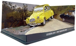 James Bond - Citron 2CV - For Your Eyes Only 1981