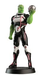 Brainiac - DC Comics Super Hero Collection  - Officially Licensed Figure  - Hand-Painted Metallic Resin  - Includes Magazine