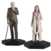 Romana and The Curator Figurine Set - Doctor Who