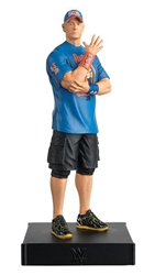 John Cena  - WWE Championship Figurine Collection - Cast Resin - Hand-Painted