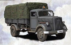 WWII German 3 Ton Cargo Truck Eastern Front (1:32), Forces of Valor Item Number FOV80038