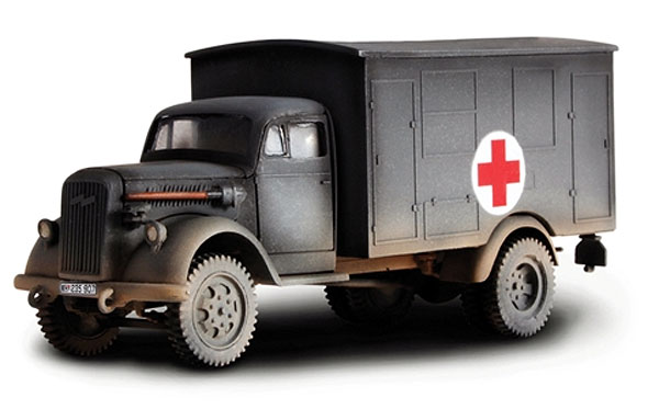 WWII German 4x4 Ambulance France 1940 (1:32), Forces of Valor Item Number FOV80076