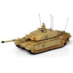 U.K. Challenger Tank Barsa 2003 Operation Iraqi Freedom (1:72), Forces of Valor Item Number FOV85120