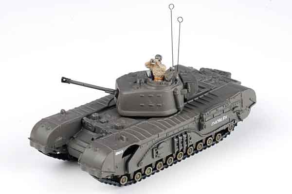 U.K. Churchill Tank (1:72), Forces of Valor Item Number FOV95003
