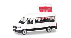 MAN TGE Bus in White (1:87), Herpa HO Scale Models, Item Number HE012935