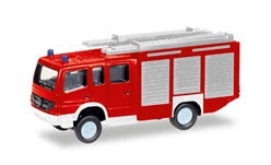 Fire Service - Mercedes-Benz Atego HLF 20 Fire Truck (1:160), Herpa HO Scale Models, Item Number HE066716