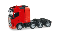 Volvo FH GL Heavy-Haul in Red (1:87), Herpa HO Scale Models, Item Number HE304788-R