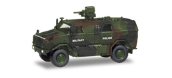 German Army - ATF Dingo 2 Armored Vehicle (1:87 HO)