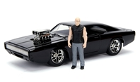 Dom's Dodge Charger Model Kit with Dom Figure (1:24)