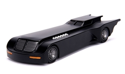 Batmobile - Batman: The Animated Series TV Series 1992-95 Item not exactly to scale - approximate size is between 1:32 and 1:43 scale by Jada Toys SKU JDA30915