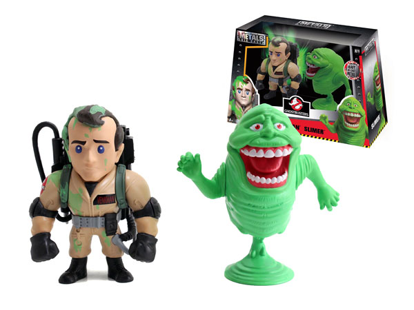 Slimed Peter Venkman and Slimer Twin Pack