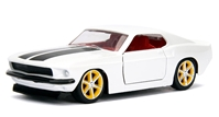 Roman's 1969 Ford Mustang - Fast and Furious between 1:32 and 1:43 scale by Jada Toys SKU JDA99517