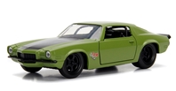 Dom's 1973 Chevrolet Camaro F-Bomb - Fast and Furious between 1:32 and 1:43 by Jada Toys SKU JDA99521