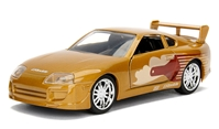 Slap Jack's 1993 Toyota Supra - Fast and Furious  between 1:32 and 1:43 by Jada Toys SKU JDA99542