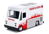 Deadpool Food Truck in White - Hollywood Rides, between 1:32 and 1:43 scale  by Jada Toys SKU JDA99800