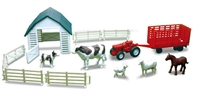 Country Life Farm Animal Playset Playset 8""