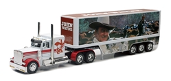 John Wayne Series 3 Long Hauler Billboard Truck (1:32), NewRay Item Number NR10443