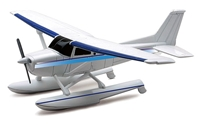 Cessna 172 Skyhawk Float Plane - Plastic Model Kit (1:43), NewRay Item Number NR20655