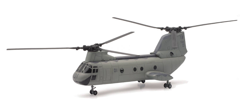 U.S. Marines Boeing CH-46 Sea Knight Helicopter (1:55), NewRay Item Number NR25893