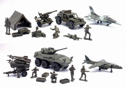 Glorious Mission Military Playsets  (1:32), NewRay Item Number NR61685-SET