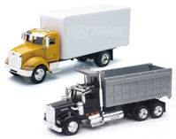 Utility Truck 2-Piece SET SET Includes: Peterbilt 335 (1:43)