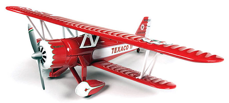 Wings of Texaco Airplane Series #23 (2015) - 1931 Stearman (1:38) - Regular Edition, Round 2 Model Airplanes Item Number CP7300