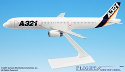 Airbus House Colors A321 (1:200), Flight Miniatures Snap-Fit Airliners Item Number AB-32100H-001