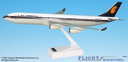Jet Airways (93-Cur) A340-300 (1:200), Flight Miniatures Snap-Fit Airliners Item Number AB-34030H-022