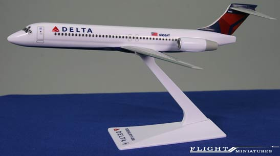 Delta B717 (1:200), Flight Miniatures Snap-Fit Airliners Item Number BO-71720H-008