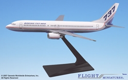 Boeing 737-800 House Colors (1:200), Flight Miniatures Snap-Fit Airliners Item Number FMBOE002