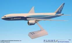 Boeing 777-200F Demo Freighter (1:200), Flight Miniatures Snap-Fit Airliners Item Number BO-7772LH-002