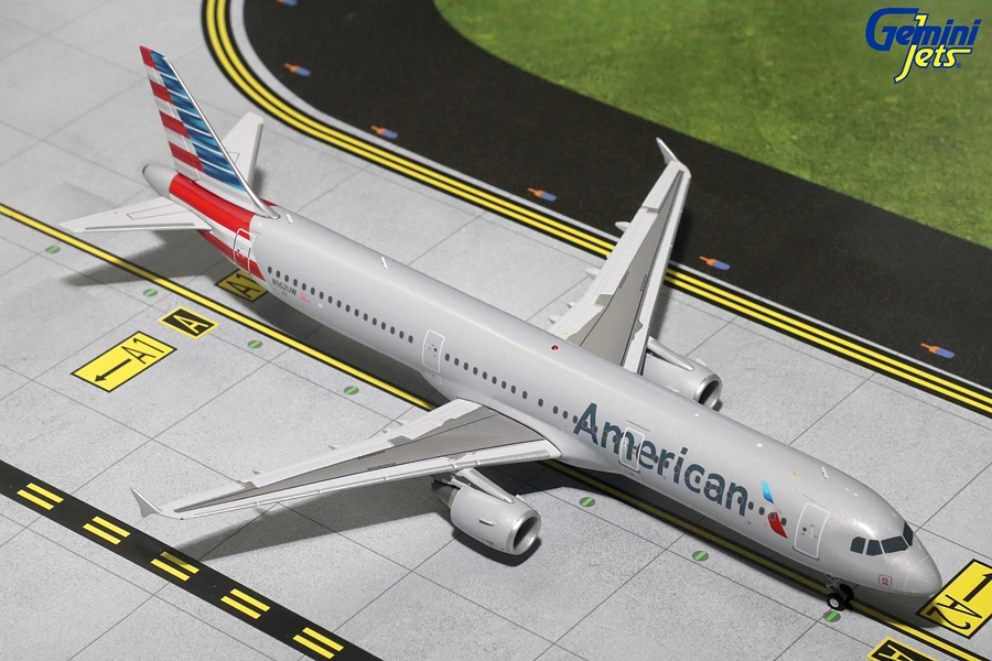 American A321-200 N162UW (1:200), GeminiJets 200 Diecast Airliners Item Number G2AAL555