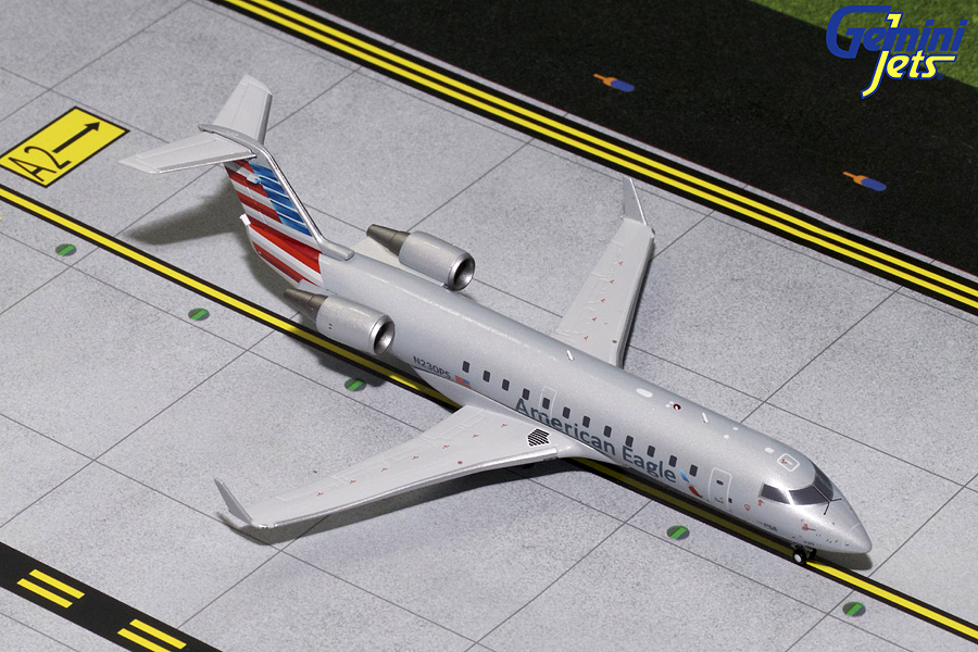 American Eagle CRJ-200 N230PS (1:200) - Preorder item, order now for future delivery