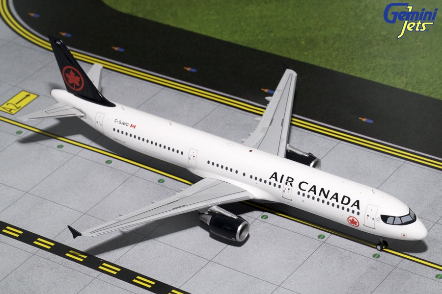 Air Canada A321-200 New Livery C-GJWO (1:200), GeminiJets 200 Diecast Airliners Item Number G2ACA673