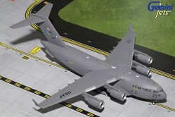 USAF BOEING C-17 Dover AFB 10186 (1:200), GeminiJets 200 Diecast Airliners, Item Number G2AFO694