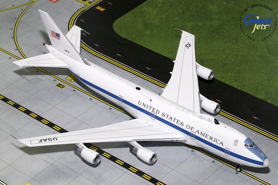 USAF Boeing E-4B 73-1676 (1:200) - Preorder item, order now for future delivery