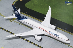 "AeroMexico B787-9 Blue and White Livery"" N183AM (1:200) , GeminiJets 200 Diecast Airliners, Item Number G2AMX648"