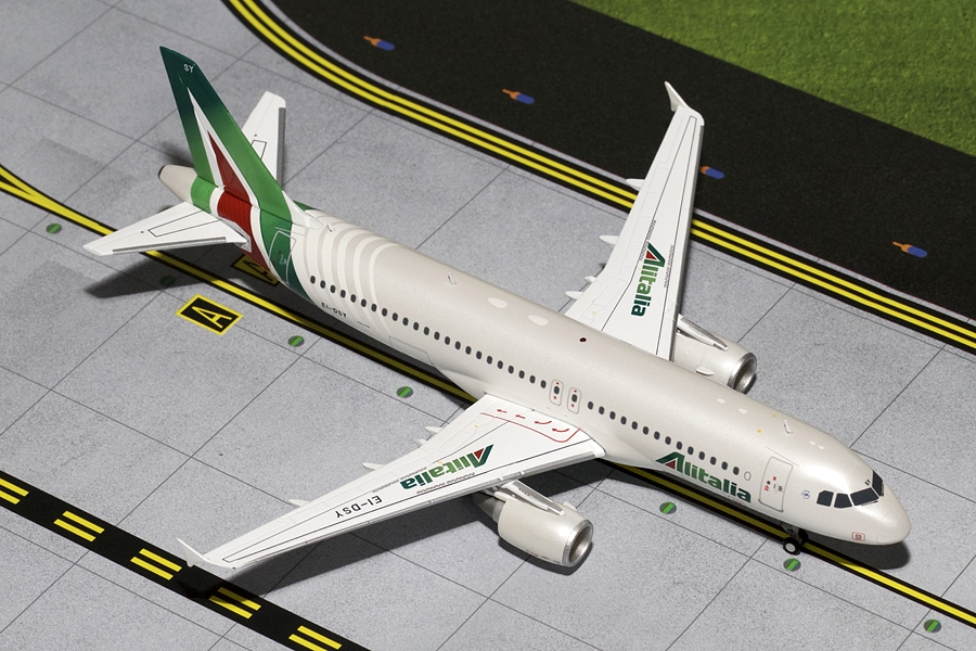 Alitalia A320 New Livery EI-DSY (1:200), GeminiJets 200 Diecast Airliners Item Number G2AZA468