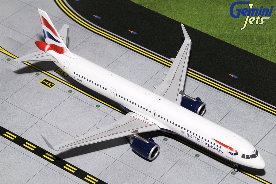 British Airways A321neo G-NEOP (1:200) by GeminiJets 200 Diecast Airliners Item Number: G2BAW802