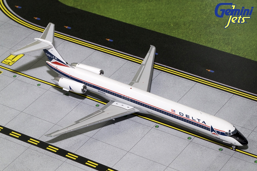 Delta MD-80 Widget Livery N956DL (1:200)