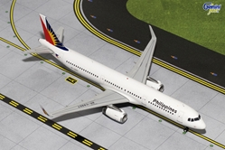 Philippine Airlines A321 Scimitars RP-C9907 (1:200), GeminiJets 200 Diecast Airliners, Item Number G2PAL484