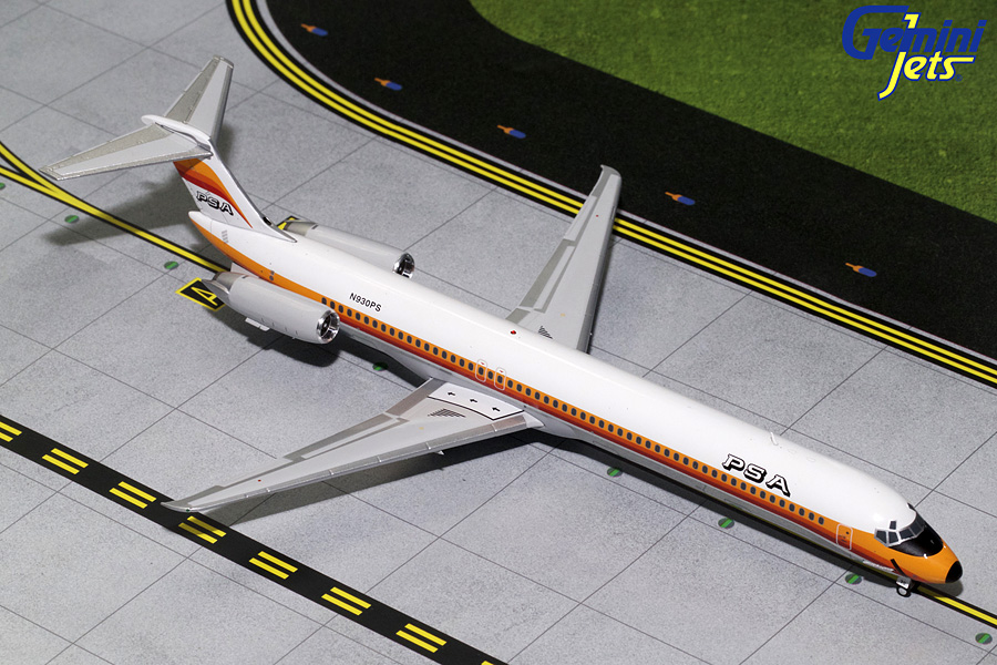 PSA MD-80 N930PS (1:200) - Preorder item, order now for future delivery
