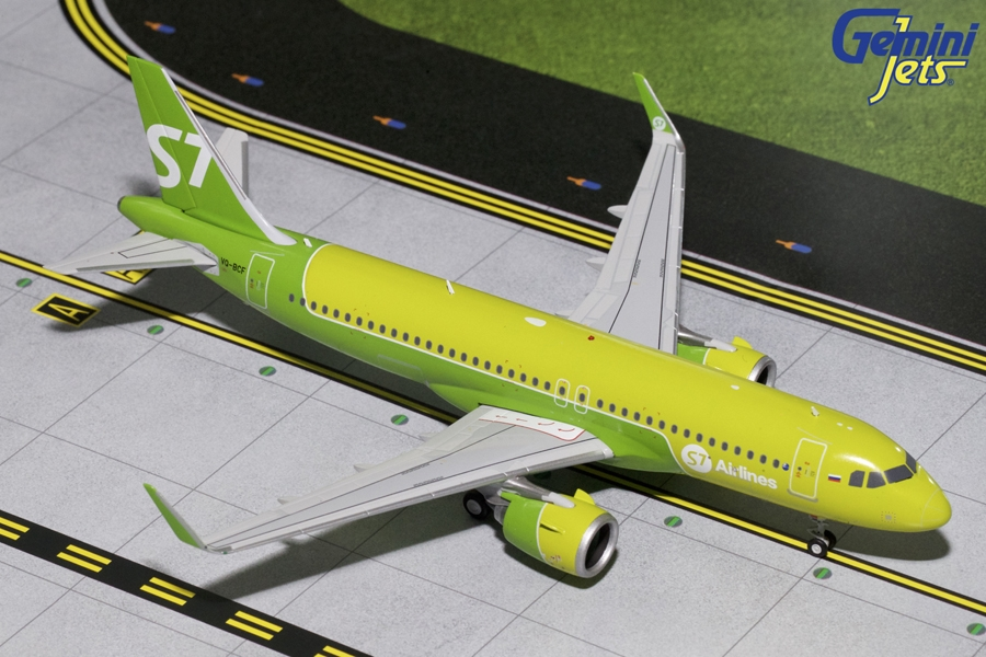 S7 Sibir Airlines A320neo VQ-BCF (1:200)