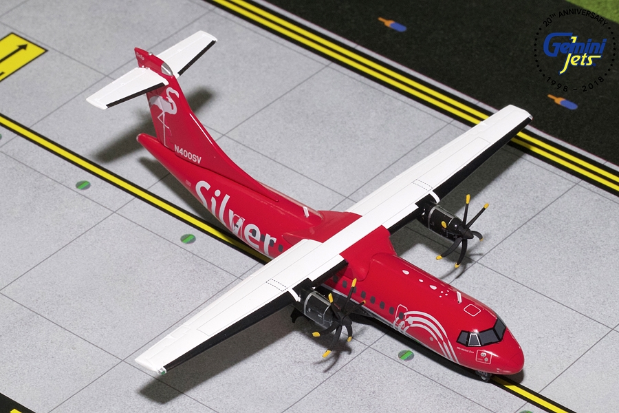 Silver Air ATR-42-600 N400SV (1:200) - Preorder item, order now for future delivery