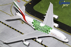 Emirates A380-800 (Green Expo 2020) A6-EEW (1:200) by GeminiJets 200 Diecast Airliners Item Number: G2UAE774