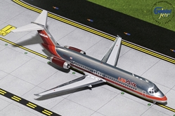 US Air DC-9-30 Maroon Livery, Polished N950VJ (1:200), GeminiJets 200 Diecast Airliners, Item Number G2USA735