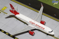 Virgin America A320 with Sharklets N361VA (1:200), GeminiJets 200 Diecast Airliners, Item Number G2VRD482