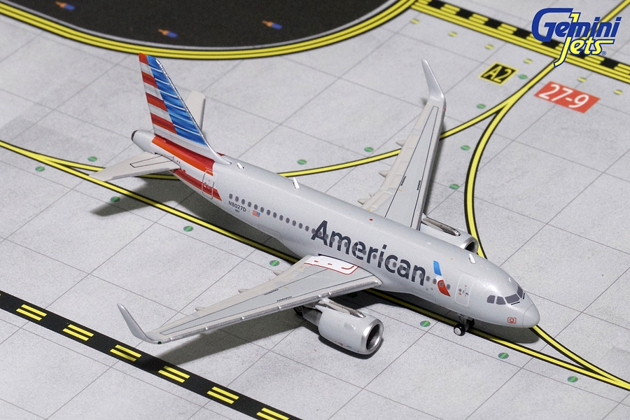 American Airlines A319 Sharklets N8027D (1:400)